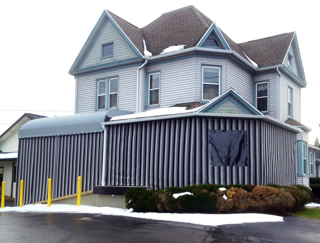 Enclosed Entrance Awnings Jpg Jamestown Awning And Party Tents