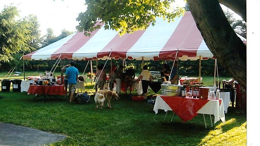 yard tent jamestown awning and party tents